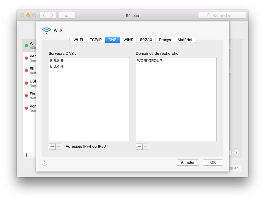 Cambiar el DNS de tu Mac (macOS / Mac OS X) 4