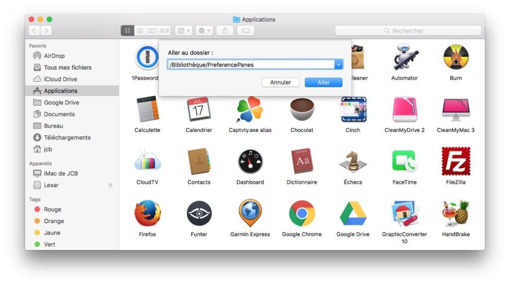 Eliminar una extensión de las Preferencias del Sistema Mac (Sierra, El Capitan...) 3