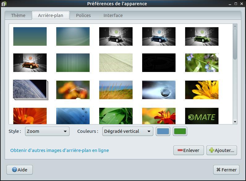 Ubuntu Mate - Cambiar la apariencia 5