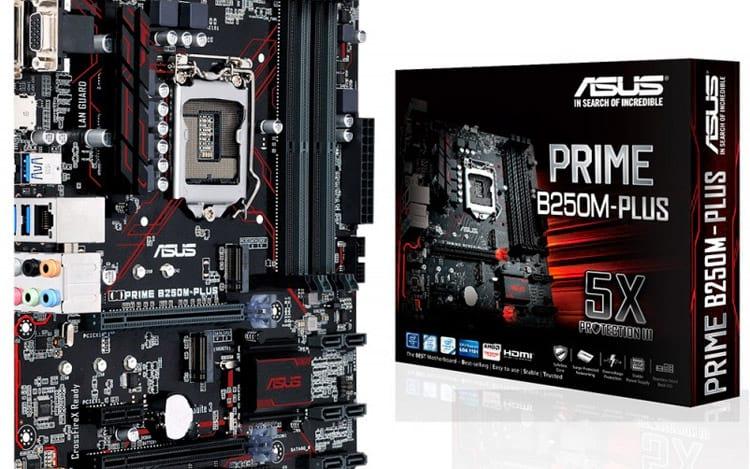 ASUS lanza placas madre producidas en Brasil compatibles con procesadores Intel de séptima generación 2