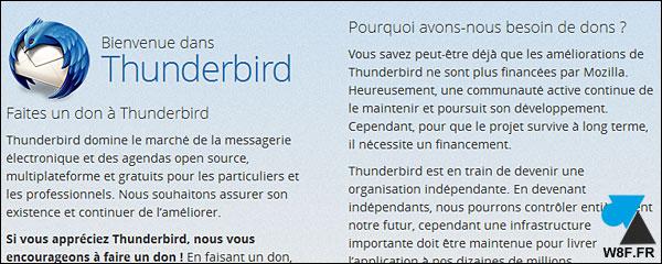 Thunderbird: ya no muestra la pantalla de bienvenida 2