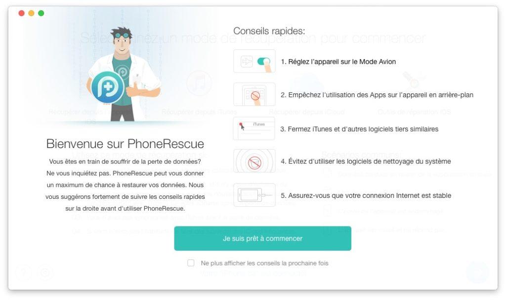 Recuperar datos borrados en iPhone / iPad / iPod 1