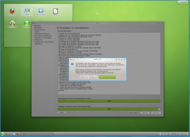 Instalación de OpenSuse 12.2 en un disco duro vacío 9