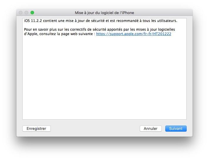 iOS 11.2.2.2.2: Actualización de iPhone, iPad, iPod touch (IPSW) 2