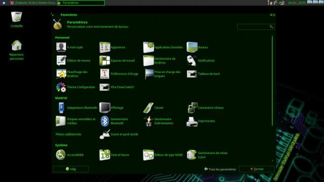 Cambiar el tema y los iconos en Xubuntu 2