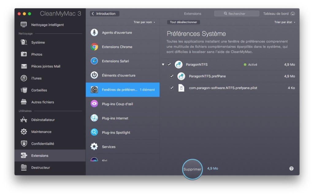 Eliminar una extensión de las Preferencias del Sistema Mac (Sierra, El Capitan...) 5