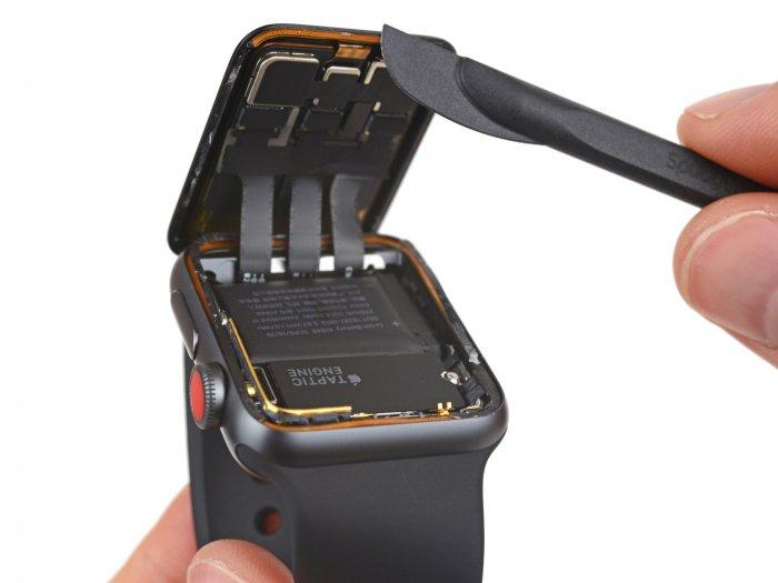 Lo que hay dentro del reloj Apple Watch Serie 3 2