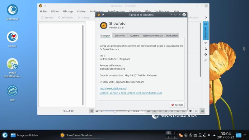 Prueba de OpenMandriva Lx 3.02 con el entorno de escritorio Plasma 5.9.5 12