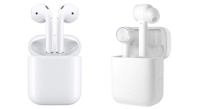 ¿Cuál es la diferencia entre Apple AirPods y Xiaomi AirDots Pro?