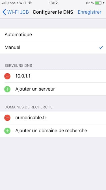 Cambiar el DNS de tu iPhone / iPad 3