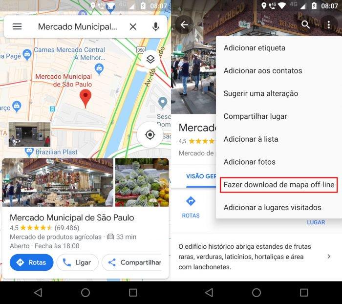 Cómo guardar una ruta en Google Maps 2