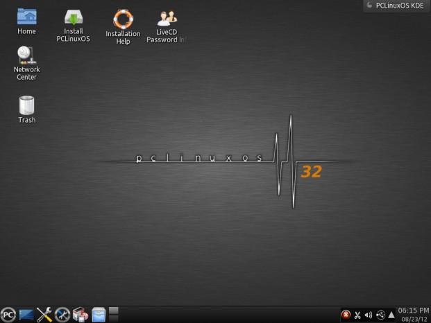 PCLinuxOS versión 08 2012 2