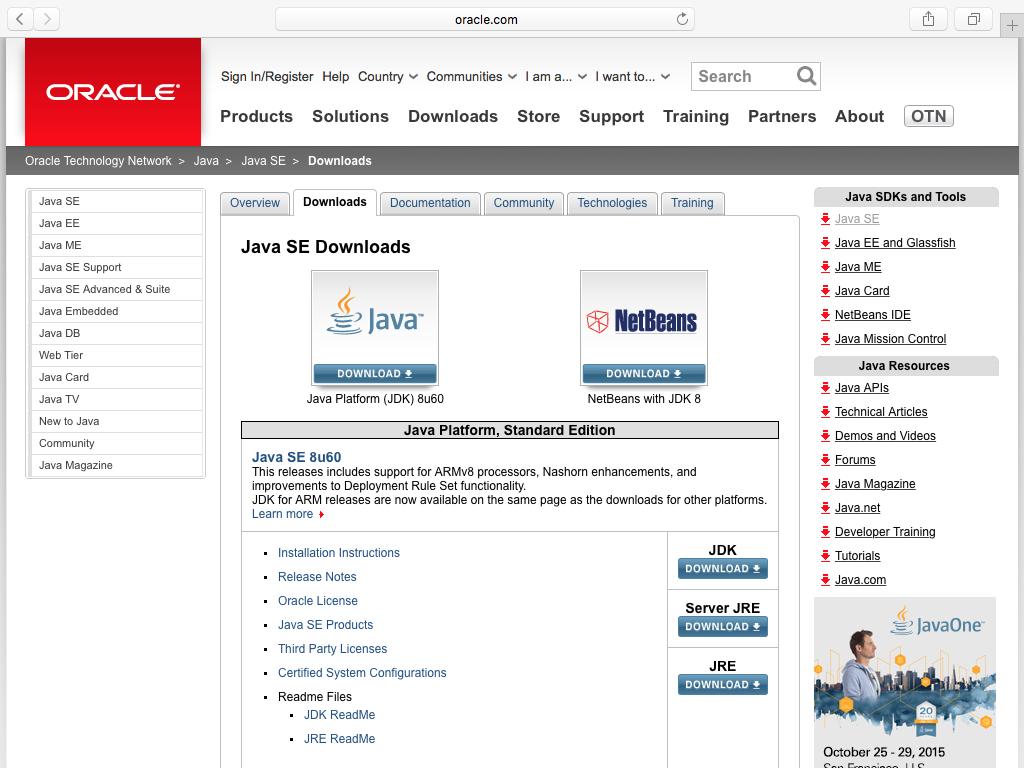 Instalar Java El Capitan (Mac OS X 10.11) 5
