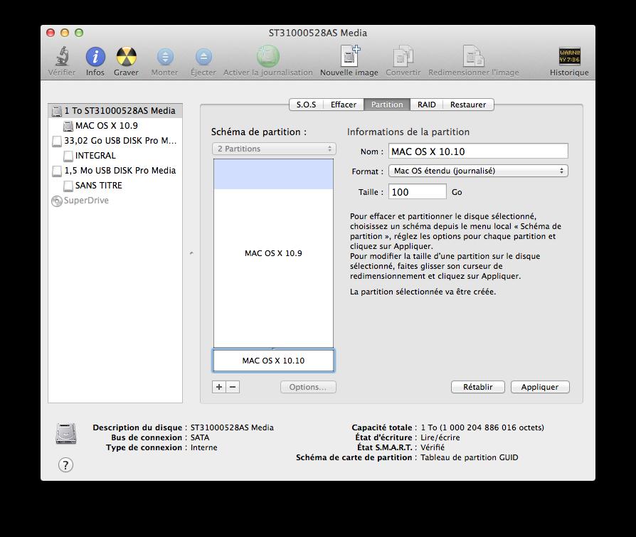 Cómo hacer un Yosemite Mavericks de arranque dual (Mac OS X 10.10 / 10.9) 1