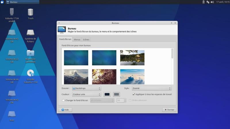 Xubuntu 17.04 para probar en una llave USB o DVD 6
