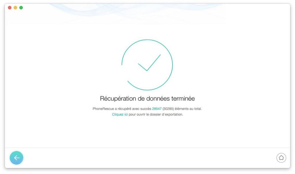 Recuperar datos borrados en iPhone / iPad / iPod 7
