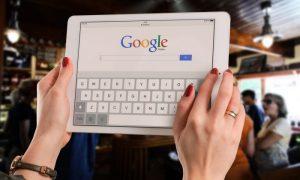 Creación de una cuenta en Google