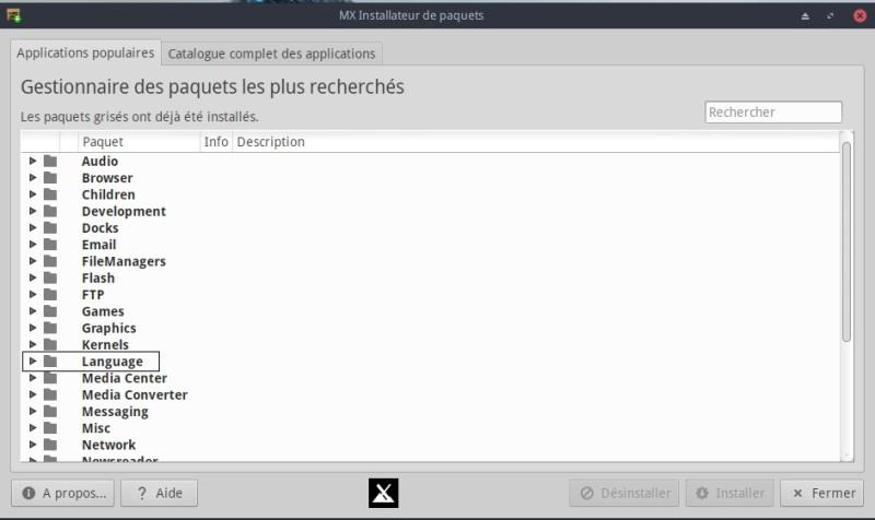 Escritorio Linux MX-16.1 XFCE para probar con placer 5