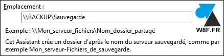 Configuración del software de copia de seguridad de Windows Server 5