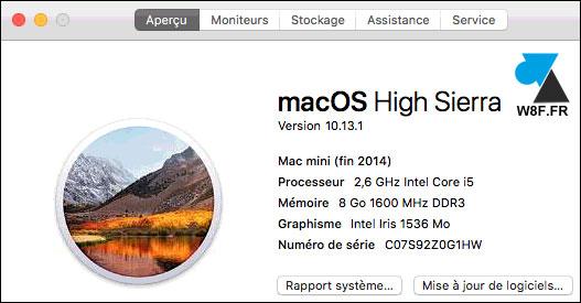 Actualización a macOS High Sierra 10.13 9