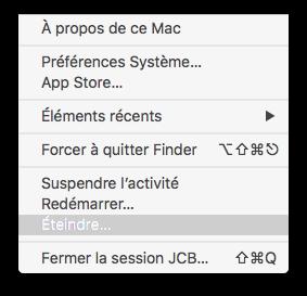Apaga tu Mac rápidamente: apaga, espera, cierra la sesión...... 2