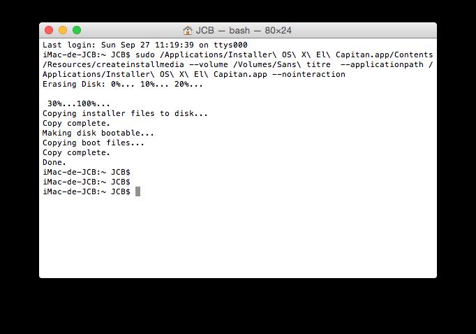 Instalación limpia de Mac OS X El Capitan (10.11) 7