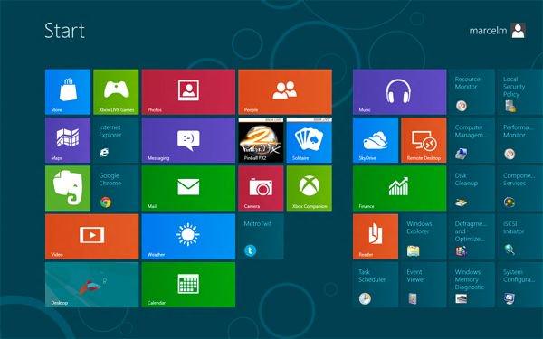 Microsoft prohíbe el menú Inicio clásico en Windows 8