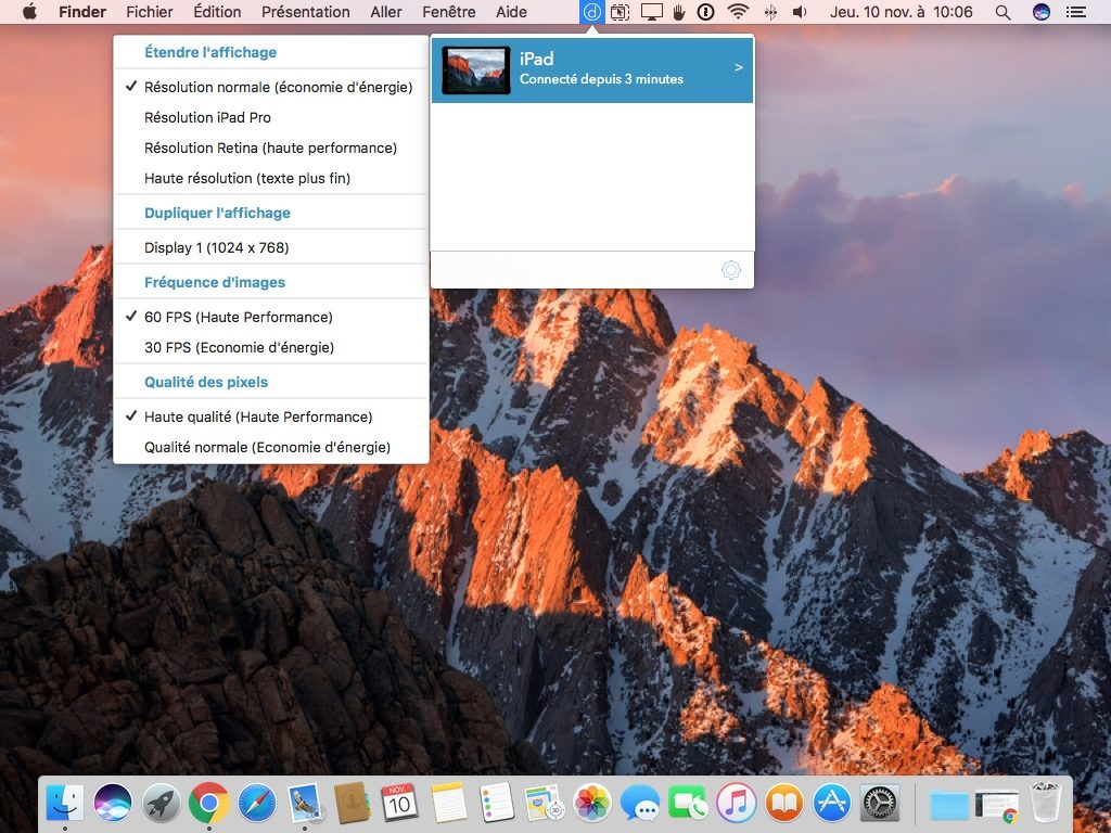 Usa un iPad como segunda pantalla con tu Mac o PC 3
