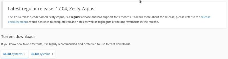 Xubuntu 17.04 para probar en una llave USB o DVD 1