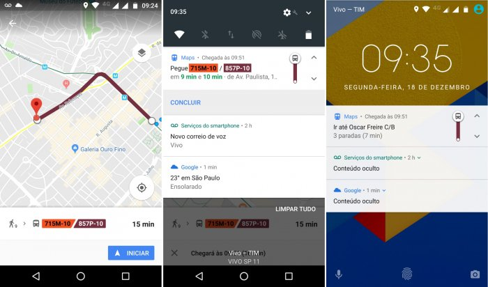 Google Maps te avisa cuando necesitas bajarte del autobús, tren o metro. 1