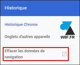 Google Chrome: eliminar el historial de Internet 3
