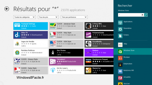 Windows Store: lista de todas las aplicaciones 5