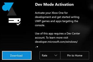 Xbox One: activa el Modo de Desarrollador 2