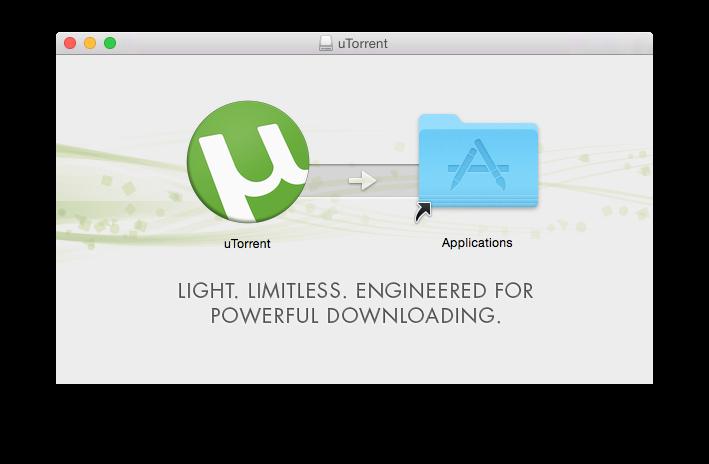 Configuración de uTorrent Yosemite en 7 pasos (Mac OS X 10.10) 1