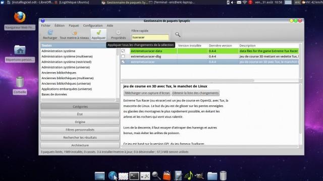 Instalación de software en Ubuntu 10