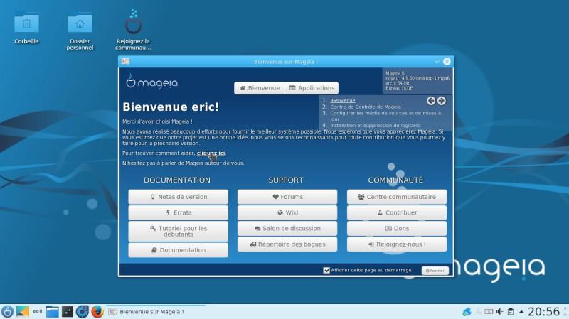 La versión final de Mageia 6 será probada en francés 3