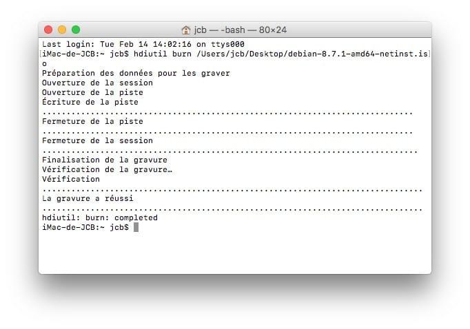 Quemar una ISO en Mac OS Sierra (10.12), El Capitán (10.11).... 7