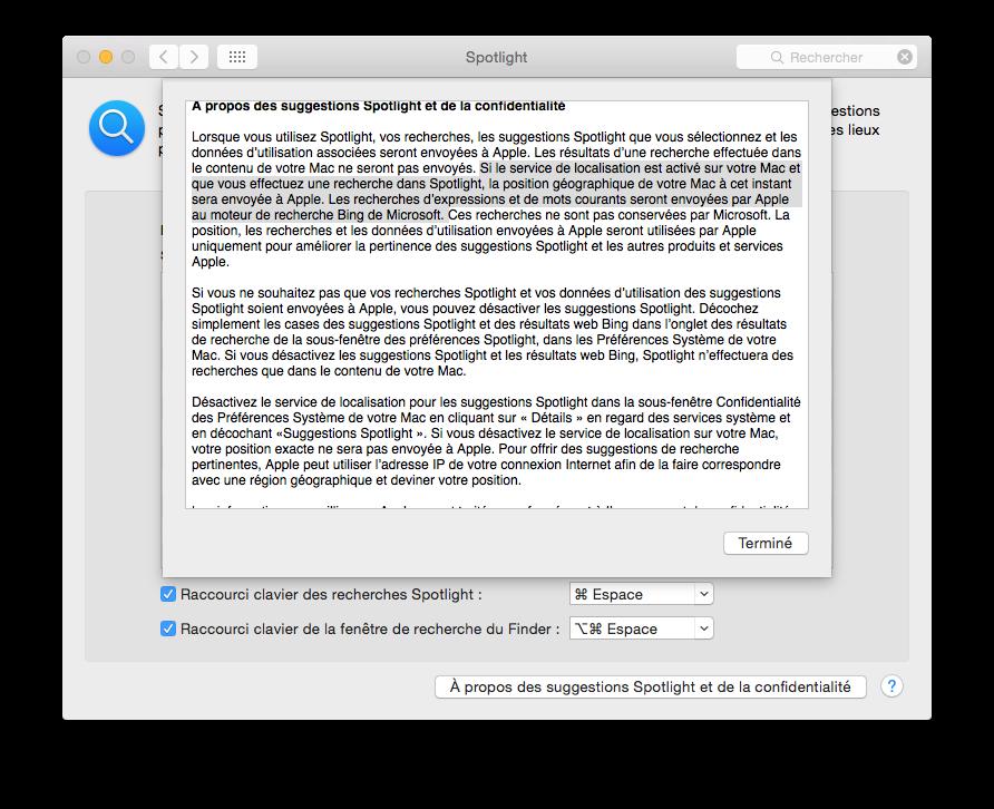 Cómo configurar Spotlight Yosemite (Mac OS X 10.10) 2