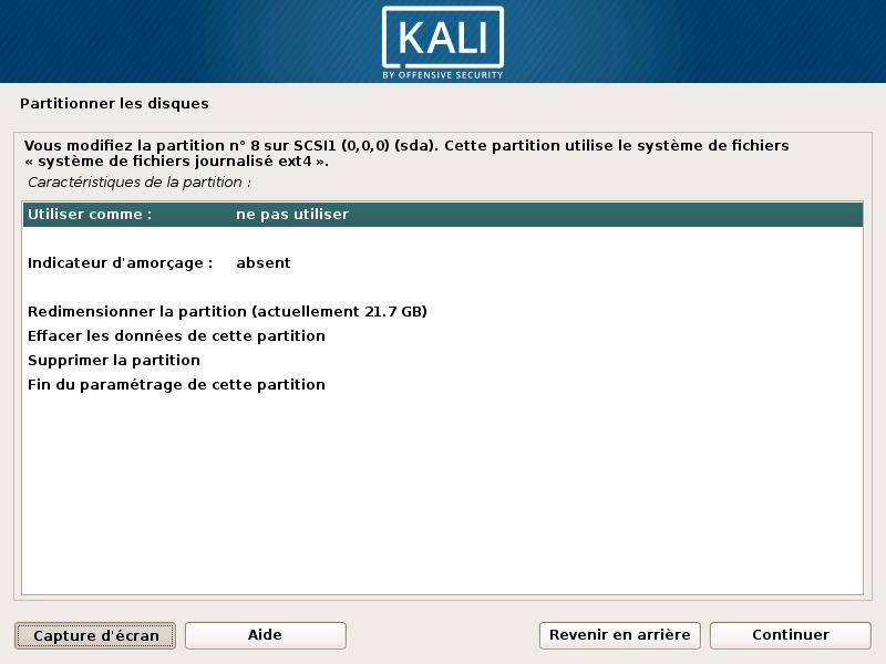 Cómo colocar Kali Linux en una llave USB o DVD 15