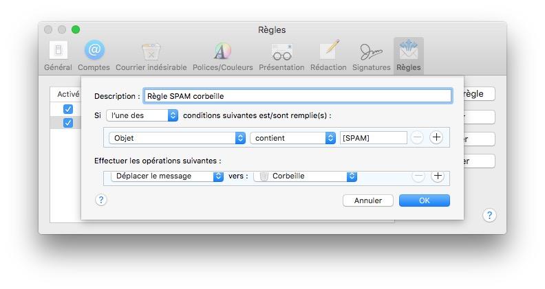 Gestiona el spam en Mac con Apple Mail 3