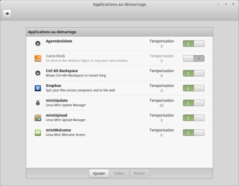Aplicaciones Linux al inicio 1