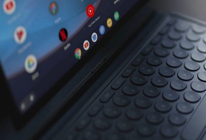 Google Pixel Slate es una tableta con sistema operativo Chrome que ejecuta aplicaciones Android y Linux. 2