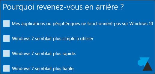 Cancelar la actualización de Windows 10 y volver a Windows 7 5