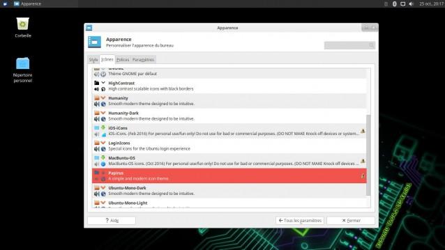 Cambiar el tema y los iconos en Xubuntu 5