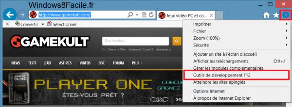 Internet Explorer 10: cambiar su agente de usuario 3