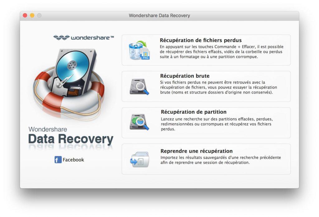 Recuperación de datos borrados en Mac OS Sierra (10.12) 1