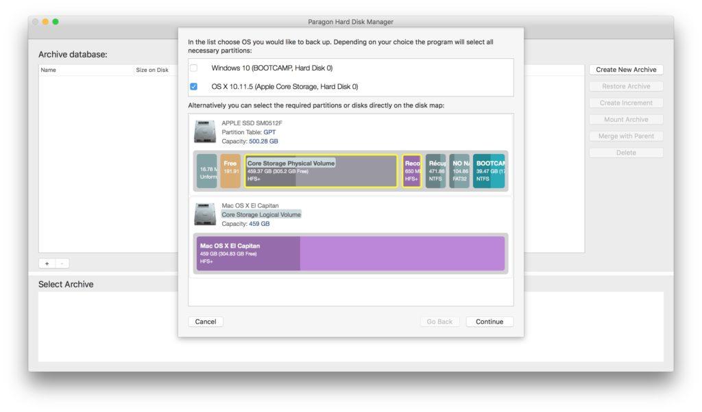Administración de particiones en Mac con Paragon Hard Disk Manager (HFS+, NTFS, FAT16/32, EXT2/3/4) 6