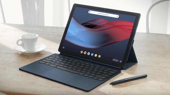 Google Pixel Slate es una tableta con sistema operativo Chrome que ejecuta aplicaciones Android y Linux. 1