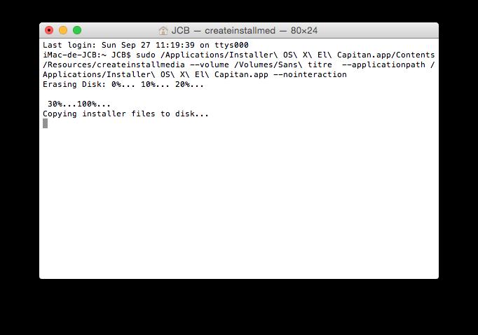 Instalación limpia de Mac OS X El Capitan (10.11) 6
