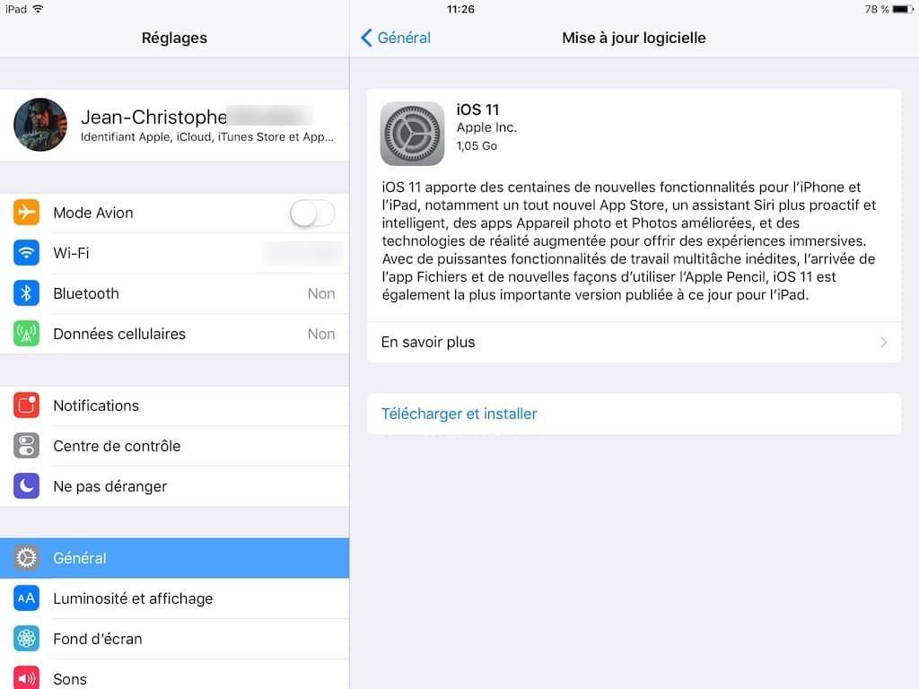 Instalación de iOS 11 en iPhone, iPad, iPod: consejos, enlaces IPSW 7